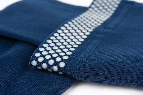 Close up of flat knit Graduated Compress