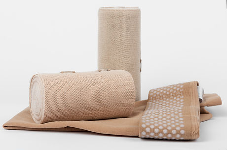 Compression stockings for leg lymphedema