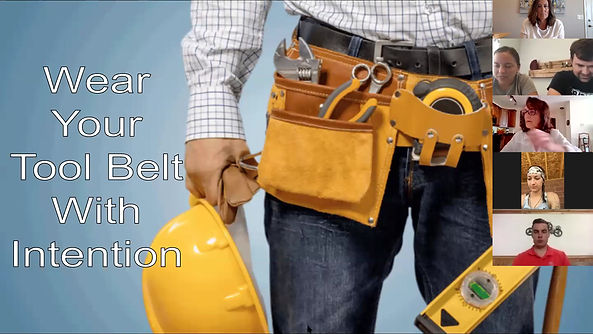 Wear Your Tool Belt With Intention