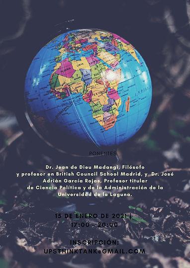 Cartel seminario religión y política, en