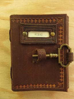 Notizbuch Leder (Rind) Nr.1