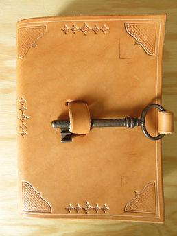Notizbuch Leder (Rind) Nr.10