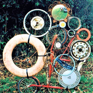circles with bicycle