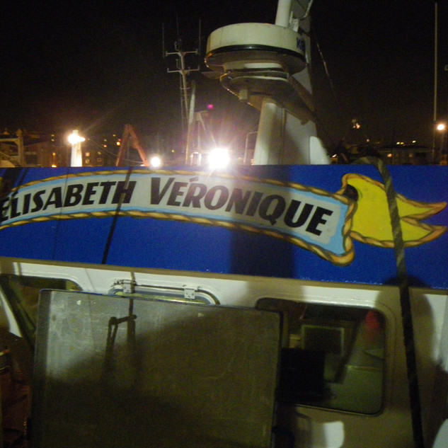 Arriving at Newlyn Harbour at 4am... in search of Elisabeth Veronique and her Captain