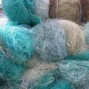 Nets being sent for recycling