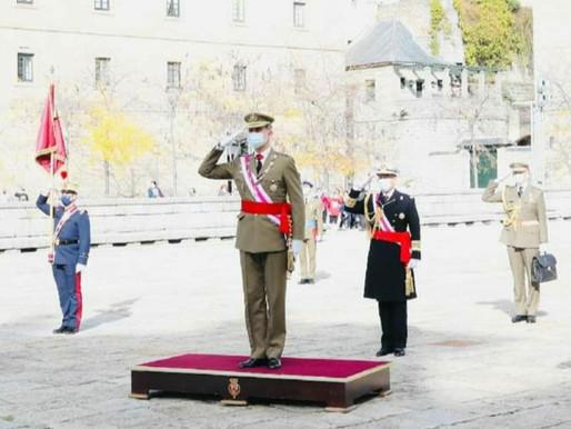 El Rey presidió hoy en El Escorial, el Capítulo de la Real y Militar Orden de San Hermenegildo.
