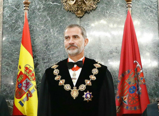 El 7 de septiembre el Rey presidirá en el Tribunal Supremo el acto de apertura del año judicial.