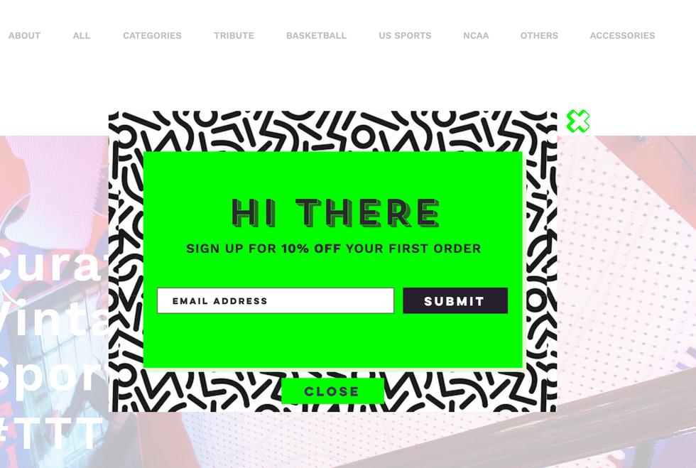 TTT web homepage