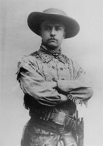 Theodore Roosevelt ranching and hunting