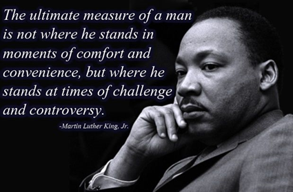 Where Do You Stand at a Time of Challenge and Controversy?