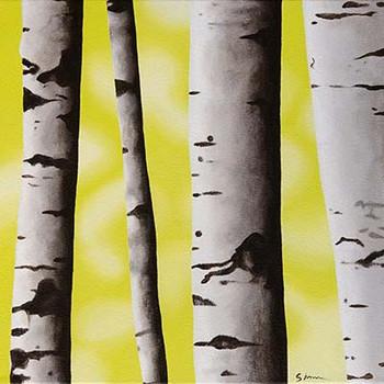 'Birch Trees 3'