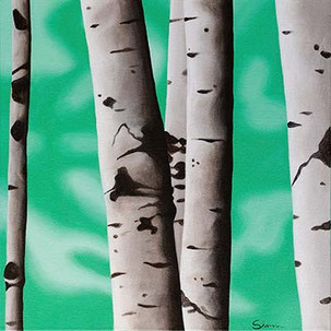 'Birch Trees 1'