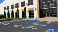 Refresh for a new look - Re-stripe the parking lot in compliance with ADA Standards