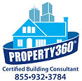 Logo for Property360 - certified building consultant