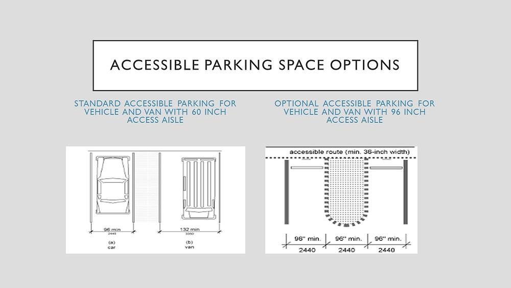 ADA 2010 502.2 Vehicle  Parking Spaces