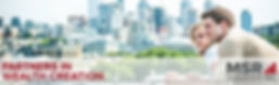 MSR Holdings logo for property investment