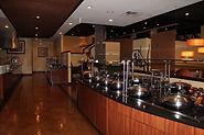 Photograph of a restaurant.