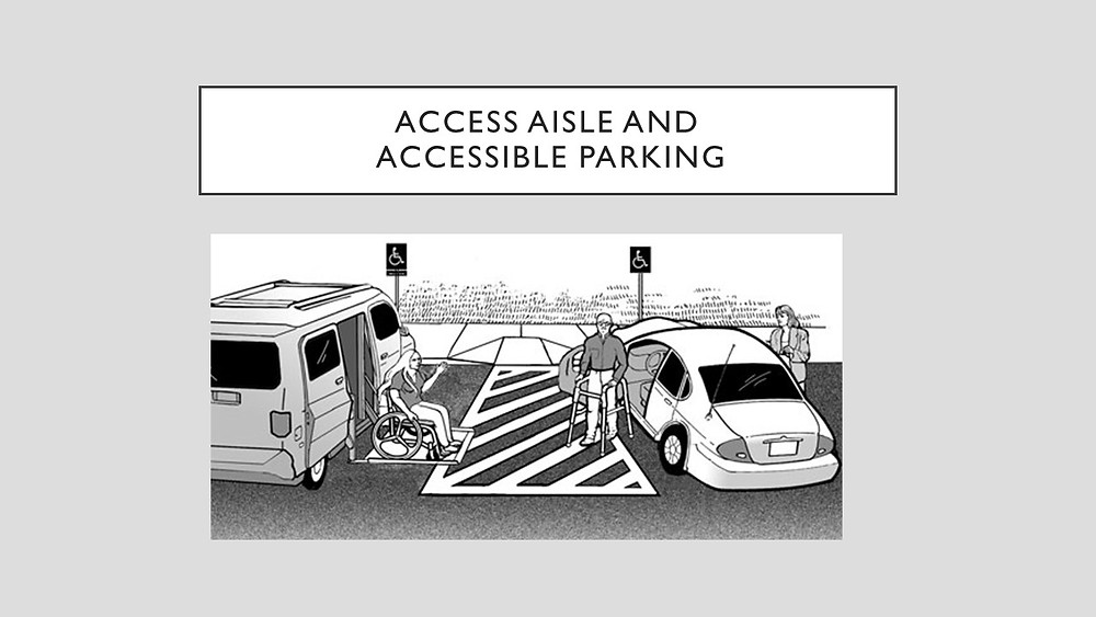 How access aisles are used