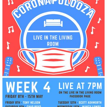 New Coronapolooza live streaming in May!