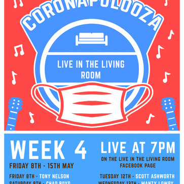 The May Coronapolooza live streams start tonight!