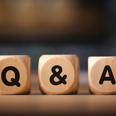 Let's have a Q&A!