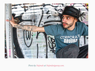 Shane Romero featured in EyeKnowHipHop Magazine (photo credit: Najm Designs Photography)