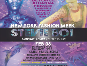 "Najm Designs- Digital Marketer for Stevie Boi's ""X2Sea"" NYFW show"