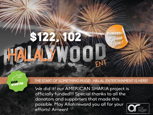 Congrats to Halalywood Entertainment & Najm Designs!