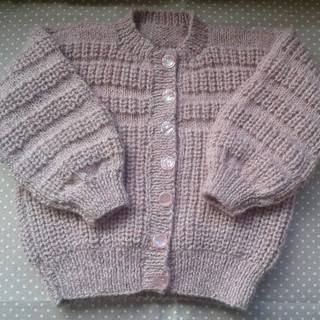Lochanside Alpacas Hand Knitted Cardigan