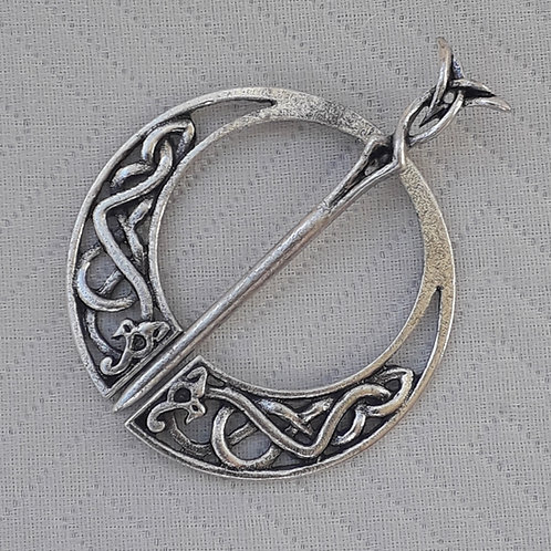 Celtic Design Shawl Brooch
