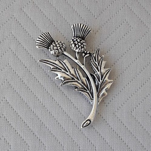 Celtic Thistle Flower of Scotland Pin