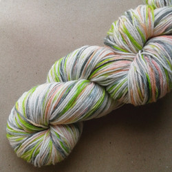Ice Cream Ripple sock yarn 3