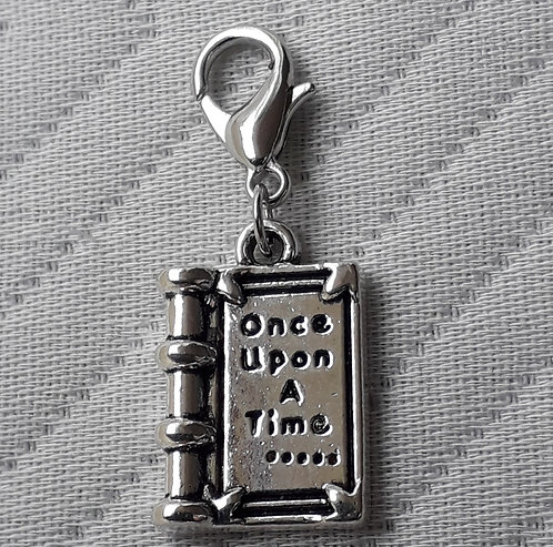 Once Upon a Time Book Charm