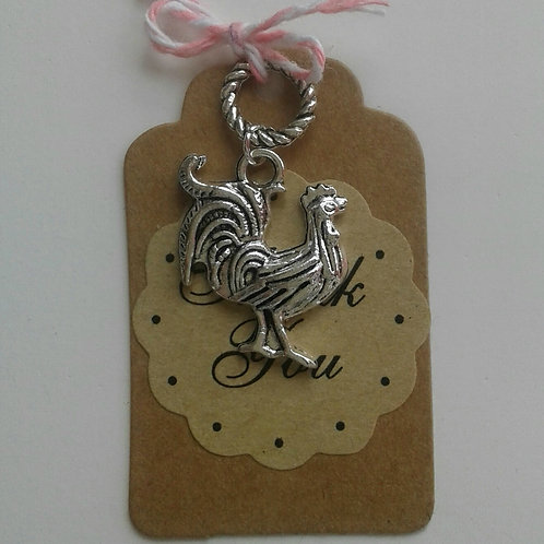 Rooster Charm