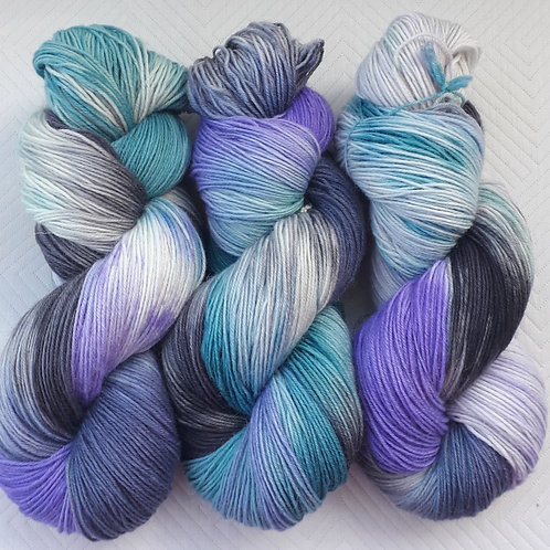 Peacock Feathers 4ply