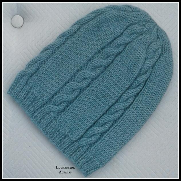 Lochanside Alpacas knitted beanie