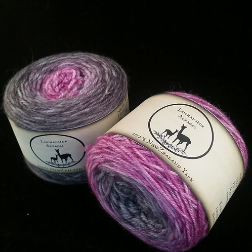 Black Dorris Plum Gradient 8 Ply