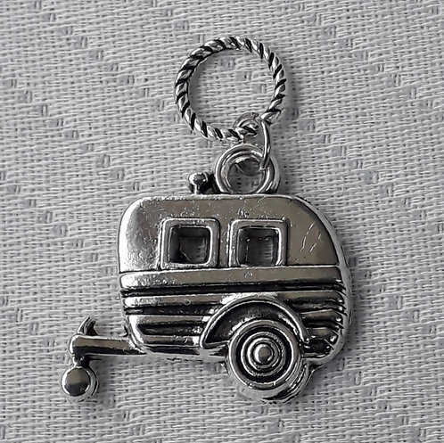 Silver Caravan Charm