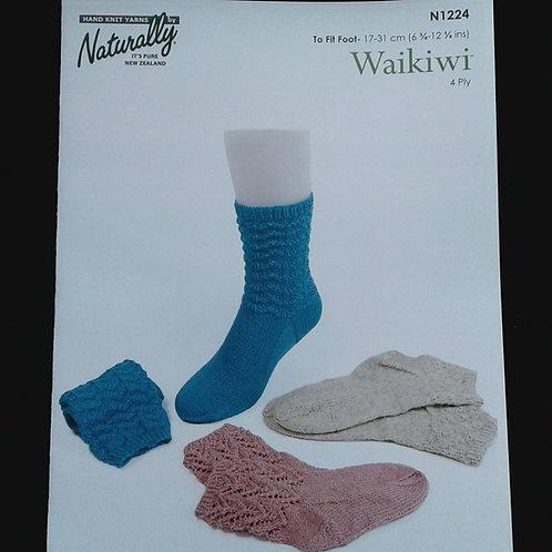 Sock Pattern 4 Ply