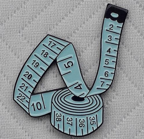 Blue Tape Measure Pin