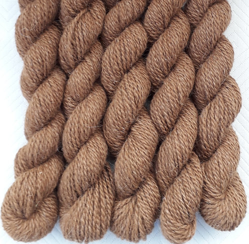 Natural Brown Alpaca 8ply