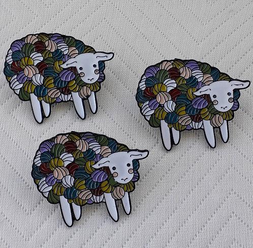 Sheep Yarn Pin