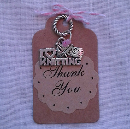 I love to Knit Charm