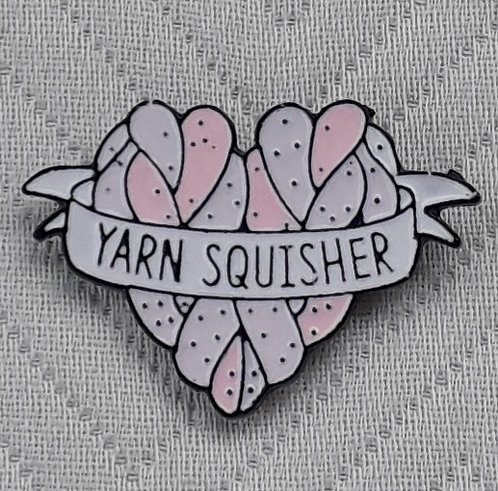 Yarn Squisher Pin