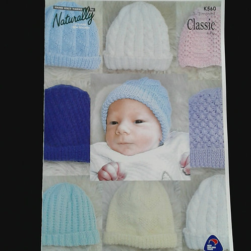Infant Hat Patterns In 4ply