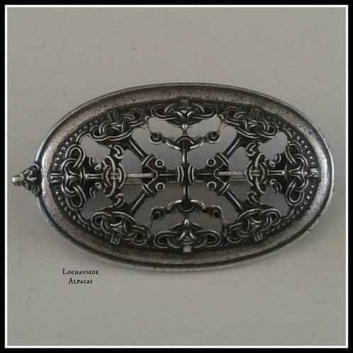Celtic/Nordic/Viking Brooch for Wraps & Shawls
