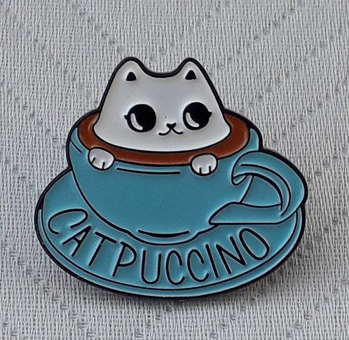 Catpuccino Pin