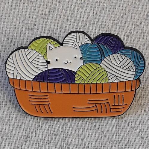 Yarn Basket Pin