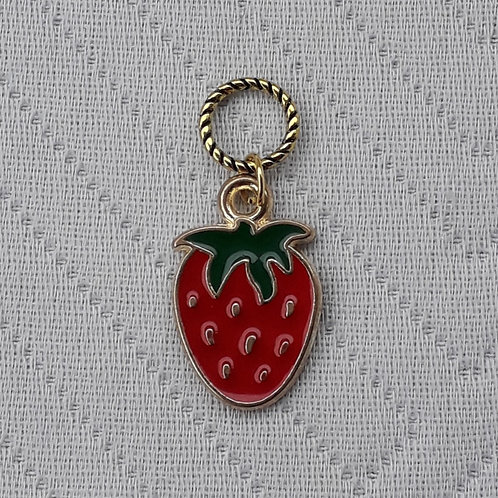 Strawberry Stitch Marker