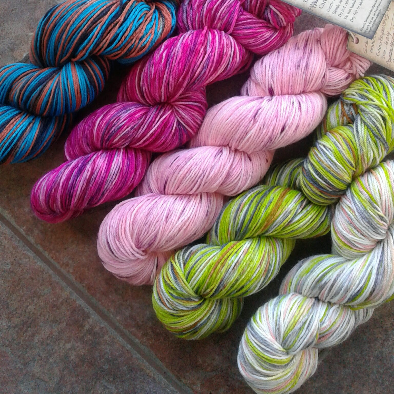 Sock Yarns 4 Ply
